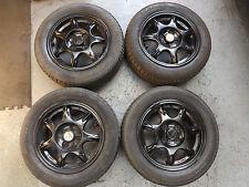"""Mazda MX5 MK1 ENKEI 14"""" Alloy Wheels with Tyres."""