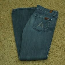 """7 For All Mankind Jeans Women's """"A Pocket"""" Boot Lexie Petite 25 (Meas 28 x 30)"""