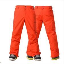 GSOU SNOW Men Warm Ski Pants Double Board Wear-resisting Waterproof Snow Pants