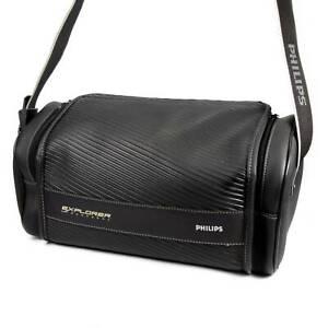 Large Black Holdall Shoulder Bag for Camera or Video Camcorder Philips Explorer
