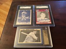 3-Joe DiMaggio Autographed Cards Fully Authenticated (see photos)