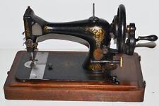 Rare c1892 Antique Singer 28K Hand Crank Sewing Machine - FREE P&P [PL2007]