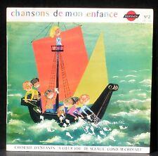 Chansons de mon enfance A coeur joie Sceaux M. Chouvet Pochette Gitta Mallasz
