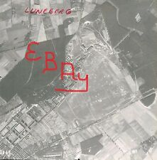 WWII ACTION 8X10 AERIAL PHOTO OF BOMBING RUN OVER LUNEBERG GERMANY 8TH USAAF