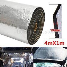 43sqft 10mm Sound Deadener Car Heat Shield Insulation Deadening Material Mat New