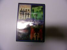 BRAINSCAN/ THE CRAFT/ MONSTER HIGH/ FRIGHT NIGHT (DVD, 4 DISC)