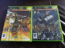 Kingdom Under Fire: The Crusader + Kingdom  Under Fire  Heroes  Xbox Original