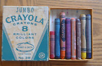Crayola Crayons Jumbo #38 Birney & Smith in Box