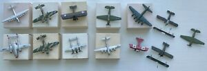 Tomy Bachmann Mini Planes Lot of x13 Vintage Mini Planes 1970's.  Made In Japan!