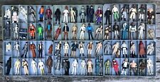 1977 To 1984 Vintage Star Wars First 80 Released Different Action Figures +Trays