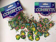 Confetti 2 pkts of Frogs & Friends Shimmer Prismatic Confetti 14g Arts & Crafts