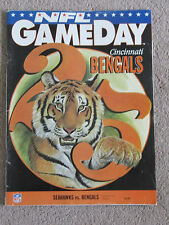 NFL program, tickets collection 1979-2006.  Mostly Seattle Seahawks