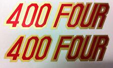 Adesivo Fiancatine  Honda Four 400 Mod. blù - adesivi/adhesives/stickers/decal