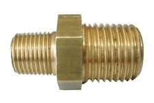 Brass Hex Nipple 1/4 Inch x 1/8 Inch BSP | British Standard Pipe Thread Fitting