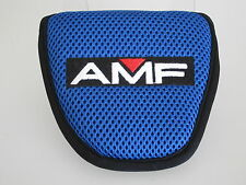 NEW AMF Blue/Black Rounded Mallet Style Headcover w/adjustable closure (B423)
