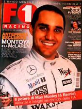 F1 Racing 67 2004 Montoya e la McLaren. Coulthard quale fututo? Fisichella Sc.46