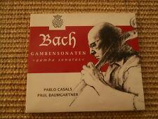 Pablo Casals Paul Baumgartner Gambensonaten - Bach - Digipak incl. Insert