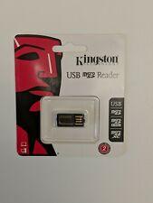 Kingston FCR-MRG2 Generation 2 microSD Reader, Black