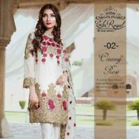 Pakistani shalwar kameez Designer Suit Wedding Dress partywear Indian women eid