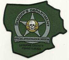 Luzerne County Sheriff Narcotics Special Invs Subdued SWAT State Pennsylvania