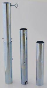 Sonnenschirm Schirmständer Bodenhülse für Schirmstock von 55 mm bis 60  mm NEU