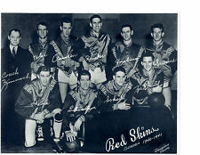 1940 1941 SHEBOYGAN RED SKINS 8X10 TEAM PHOTO NBL BASKETBALL