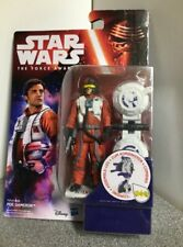 STAR WARS THE FORCE AWAKENS 3.75 INCH POE DAMERON IN X WING PILOT SUIT