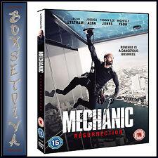MECHANIC RESURRECTION -  Jason Statham & Jessica Alba  **BRAND NEW DVD***