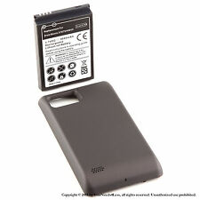 4000mAh Extended Battery for Motorola Droid Bionic 4G XT875 Black Cover