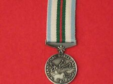 Miniature Interfret East Timor Medal with ribbon.