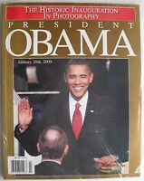 PRESIDENT BARACK OBAMA  2009 HISTORIC INAUGURATION Magazine NEW MINT SEALED!