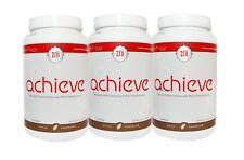 3 Bottle Zrii Achieve Mix Soy Protein Powder Shake ( Dutch Chocolate )