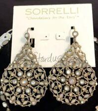 $100 Sorrelli Earrings Stardust Neutral Crystals Stunning Statement Earrings!!