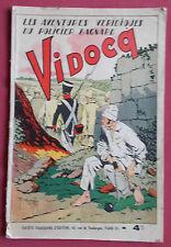 VIDOCQ LES AVENTURES VERIDIQUES DU POLICIER BAGNARD BD EO GIFFEY 1939