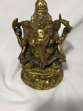 Antique/Vintage Gilt bronze Tibetan Buddha Shiva for collection