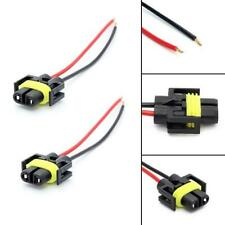 A pair of 880 881 headlight foglight female extend Wiring Harness Socket adapter