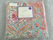 Zara Home  Floral  Paisley Design Single Flat Sheet NEW and  x1 pillowcase
