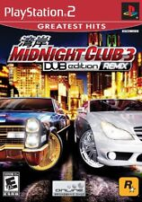 Midnight Club 3: DUB Edition - Remix Greatest Hits - Playstation 2 Game Complete