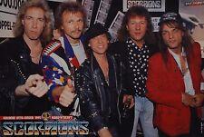 Scorpions-POSTER a3 (circa 42 x 28 cm) - Klaus mia skinning fan Raccolta Nuovo