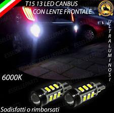 LAMPADE RETROMARCIA 13 LED T15 W16W CANBUS PER KIA PICANTO 6000K NO ERROR