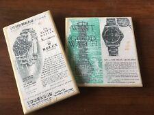 Rolex Vintage 6542 1675 GMT MASTER  ad Art Distressed design for home decor