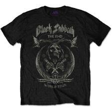 Details about  /BLACK SABBATH The End Tour Black T SHIRT Official Ozzy Rock Band Merchandise