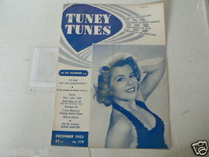1953 NO 119 TUNEY TUNES MUSIC EILEEN BARTON COVER.BING CROSBY,JANE WYMAN,MARLIN