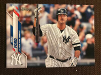 2020 Topps Series 2 Mike Ford Advanced Stats /300 New York Yankees!!