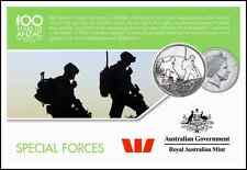 Special forces 100 years of Anzac coin collection 2016 - 20c AUD $$
