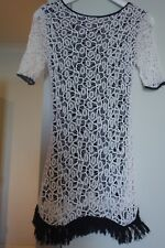 ONE TEASPOON CROCHET DRESS, SIZE XS