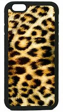 Leopard print Pattern Tiger Fur Case Cover for iPhone 4 4s 5 5s 5c 6 Plus