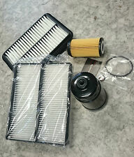 Gr. Inspektionspaket Filter Wartungskit Hyundai Santa Fe SM 2,0 CRDI 92KW 2003-