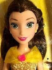 Disney Princess Royal Shimmer Belle Doll in Signature-Colored, Jewel-Ombre Gown