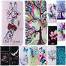 For Samsung Galaxy A50 A30 A10 Magnetic Pattern Leather Flip Wallet Case Cover